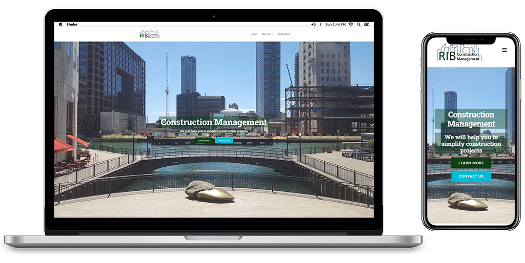 RIB Construction Management Website